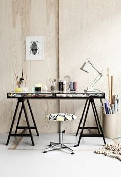 Workspace Styling - I will always love this desk!