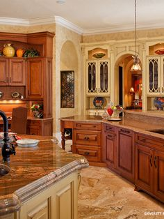 Mediterranean Kitchen Design, Pictures, Remodel, Decor and Ideas - page 31