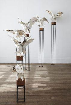 anna wili highfield - paper owls