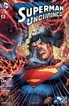Superman Unchained #6 #DC #New52 #SupermanUnchained (Cover Artist: Jim Lee) On Sale: 3/26/2014