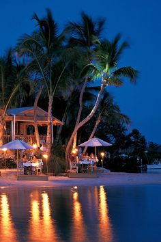 Little Palm Island Resort & Spa - A Noble House Resort - Little Torch Key, Florida - Turquoise waters, white sand beaches and Jamaica palms line the property.