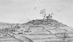 Halifax from Fort Needham, ca. 1780 - Citadel Hill (Fort George) - Wikipedia, the free encyclopedia Nova Scotia, Past, Empire, Ocean, History, Free, Past Tense, Historia, The Ocean