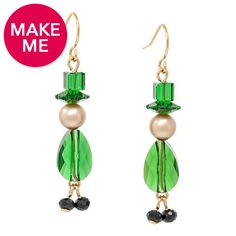 Lucky Leprechaun Earrings | Fusion Beads Inspiration Gallery