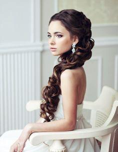 Beautiful wedding hair - My wedding ideas