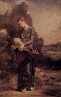 Gustave Moreau  - Orpheus