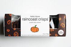 Lesley Stowe Raincoast Crisps Pumpkin Spice Crackers