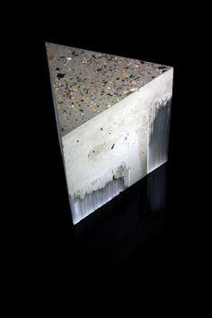 Harry Morgan: Entropy, 2014. Concrete, glass.