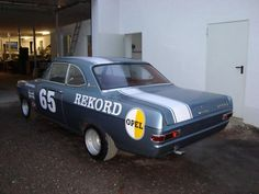 Opel Rekord A & B: for sale: Opel Rekord Record A Coupe Tuning H-Zulassung