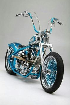The blue spokes n bars r a lil much for me but hell I'd ride it!