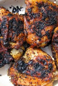 Thai Grilled Chicken Thighs ~ very easy and very yummy!!.jpg