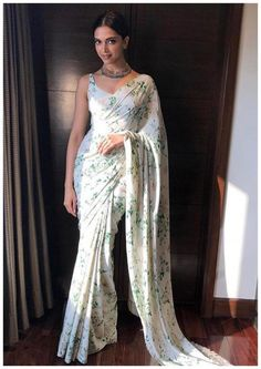 Deepika Padukone is undoubtedly one of the most fashionable women in the industry. Check out the best stunning images of Deepika Padukone in Saree. Deepika In Saree, Deepika Padukone Saree, Sabyasachi Sarees, Lehenga Choli, Bollywood Saree, Indian Sarees, Sonakshi Sinha, Kareena Kapoor, Lehenga Blouse