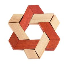 Kong Ming Luban Lock Kids Adult Wooden Intellectual Puzzle Brain Tease Toy  S1#