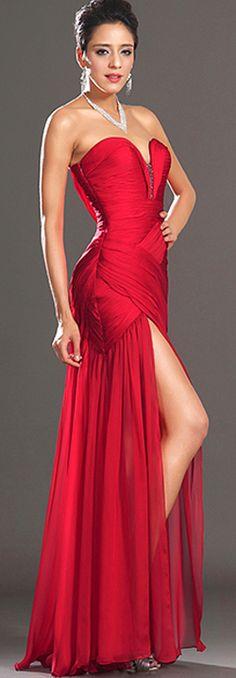 Stylish Ruched Dress.