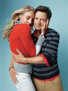 Michael J. Fox, wife embrace in Gap holiday ad - style - TODAY.com