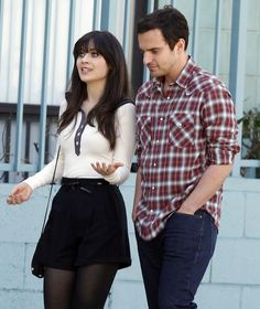 Zooey Deschanel Jake M. New Girl Outfits, Gossip Girl Outfits, Tv Show Outfits, Friend Outfits, Cute Outfits, New Girl Style, My Style, New Girl Nick And Jess, Fox New Girl