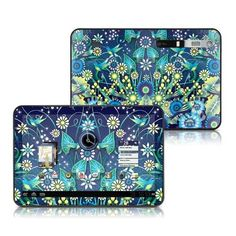 Blue Garden Design Protective Skin Decal Sticker for Motorola Xoom Tablet by MyGift. $19.99. This ultra portable and ultra light Motorola Xoom tablet will certainly go with you wherever you please. Pamper your Motorola tablet with our charming skin stickers. This skin is printed on premium grade vinyl and protects your Xoom electronic device from abuse. Non-permanent adhesive backing is safe to use and will not leave behind a sticky residue on your Xoom tablet. Designs are uniq...