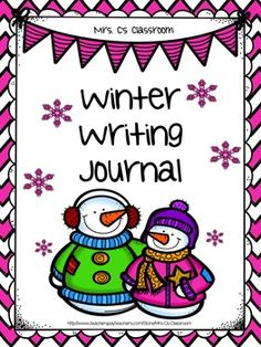 Included are 11 winter writing prompts, 4 graphic organizers (story maps), and a cover page for making a journal of the writing pages, if desired.  Each writing prompt which includes a graphic on the page is available in both a black and white and a colored version, allowing for choices.