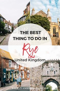 Things to do in Rye Sussex UK Europe Travel Guide, Travel Guides, Travel Destinations, Travel Plan, Travel Advice, Travel Tips, Day Trips From London, Things To Do In London, East Sussex