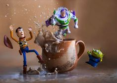 Photographer Brings Toy Story To Life Via Creative Images Shot In Real Time