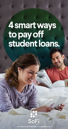 The path to paying off your student loans doesn�t have to be so hard...or expensive...or long. Check out SoFi�s four key loan repayment strategies for graduates looking to pay off their loans sooner rather than later, and save money doing so. SoFi consolidates and refinances both federal and private loans, offering fixed and variable rates and multiple terms�whatever best fits your needs. What�s more? SoFi helps their members save an average of $316/month.