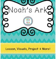 FREE Noah's Ark Lesson Pack