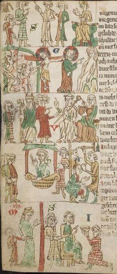 Eike <von Repgow>   Heidelberger Sachsenspiegel — Ostmitteldeutschland, Anfang 14. Jh. Cod. Pal. germ. 164 Folio 18v