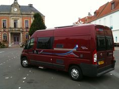 Red Adria Twin in Etaples, Northern France