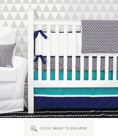1000 images about crib bedding on pinterest crib sheets crib bedding and modern baby cribs - Deco babybed ...
