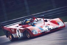 Ronnie Peterson/Tim Schenken, Ferrari 312PB, Monza 1972