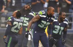 Legion of Boom! This picture gives me the goosebumps.