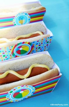 Pool Party DIY Ideas and Food!