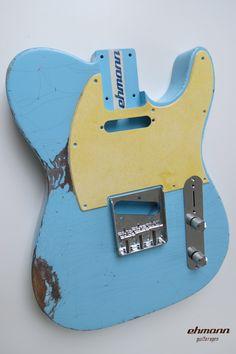 Ehmann Guitarages, Aging, Guitar, Vintage, Custom, Gitarre, Aged, Body, Hals, Neck, Nitro, Korpus