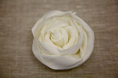 "A great tutorial about how to make ""rosette"" flowers...EASILY!"