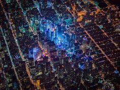 Нью-Йорк с 2-километровой высоты | www.krasfun.ru