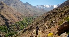 Hiking in Atlas Mountains, Morocco