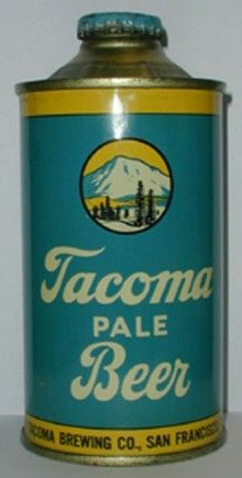 Tacoma Pale Beer Can