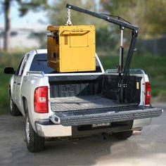 Black Bull Pick Up Truck Crane - $181