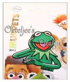 Kermit de Kikker (The Muppets) Disney | Oeteldonksche carnavalsemblemen | Oeteljee.nl | Den Bosch |