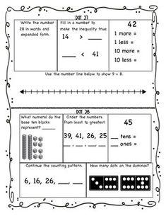 Building-Number-Sense-30-Days-of-Activities-2009127 Teaching Resources - TeachersPayTeachers.com