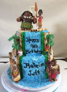 Another Moana birthday cake.