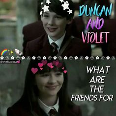 My OTP forever. (I've always shipped Violet and Duncan and I always will. Baudelaire Children, Les Orphelins Baudelaire, A Series Of Unfortunate Events Netflix, Me Tv, Netflix Series, Reading Material, Elsa Frozen, Book Series, Otp