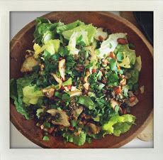 Escarole and Sunchoke Salad
