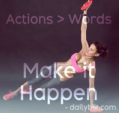 Paint this saying on my bedroom wall!  Free at-home workouts on www.dailyhiit.com