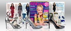 Szpilki to zawsze świetny wybór – wyszczuplają nogi i dodają pewności siebie! Styliści magazynu ŚWIAT KOBIETY zaprezentowali ,aż trzy modele obuwia na wysokim obcasie ! : czarne klasyczne szpilki (https://wojas.pl/produkt/15655 ), szpilki z motywem zwierzęcym, (https://wojas.pl/produkt/22725 ) oraz sandały w metalicznym kolorze ( https://wojas.pl/produkt/22033 ). Polecamy !