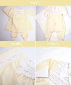roupa de maternidade amarelo