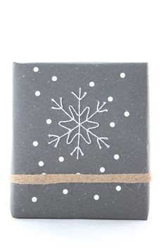Oi Paketti!: 2. luukku / Baker's Twine Snowflake