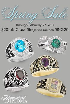Imagine the surprise on your teen's face when they open a Class Ring that's designed just for them! Or get your teen involved in the design process!