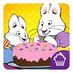 Max & Ruby Bunny Bake Off  Characters and art from the beloved Max & Ruby series  Your very own virtual recipe book for kids to view the recipes they've made! Then get ready to tap, tap, tap and gobble up the yummy food  Jump start your imagination with play food decorating  Fun narration makes these special bunnies come to life  Max & Ruby Easter and spring themed deluxe coloring book with tons of tools, paints, crayons and stickers!