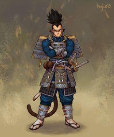 Samurai Vegeta, Guillem Daudén kenji_893 on ArtStation at https://www.artstation.com/artwork/4b9NZ1 Goku, Dbz, Nerd Art, Dungeons And Dragons, Anime Artwork, Dragon Ball Z, Fan Art, Geek Stuff, Comics