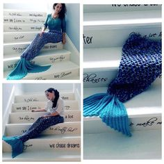 Mermaid Tail Video Tutorial By AnnooCrochet Designs